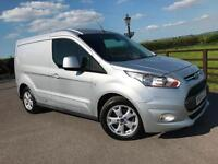 Ford Transit Connect 1.6TDCi ( 115PS ) 200 L1 Limited 2014 (64) reg 1 Co Owner