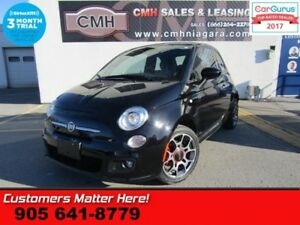 "2015 Fiat 500 Sport  MANUAL 7""-DISPLAY STEERING AUDIO CTL PWR-GR"