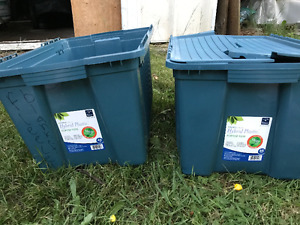 Two 45 litre totes