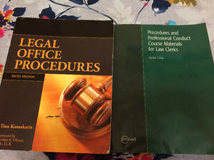 Law Clerk Program 2 Books for $150 in really good condition.