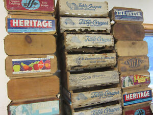 Vintage California Table Grape Boxes. ** ONLY $10. Each ** Kitchener / Waterloo Kitchener Area image 5