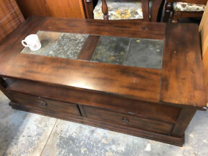 Furniture Items: hutches, dressers, tables