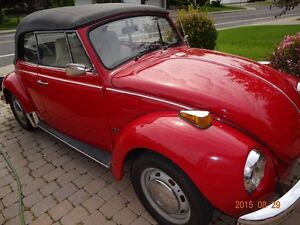 VW Super Beetle 1972 convertible