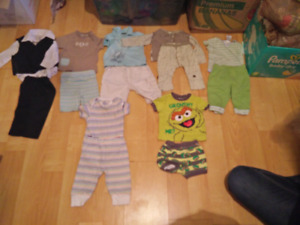 3-6 months boys outfits