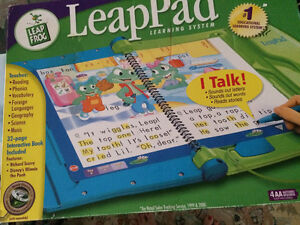 Leap pad leap frog learning system