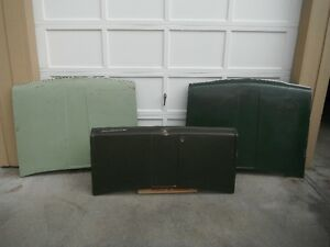 1972 DATSUN 510 TRUNK & ENGINE HOODS