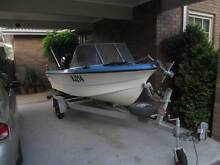 Pongrass Fishing Boat 4m. 50Hp outboard Croydon Hills Maroondah Area Preview