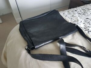 Leather Hilfiger Shoulder Bag