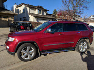 2012 Jeep Grand Cherokee Overland, great for winter.