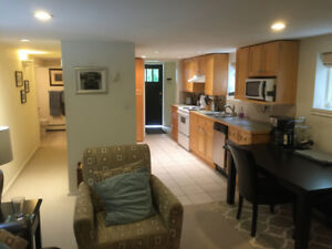 UBC Large 2BD Garden Level Unit
