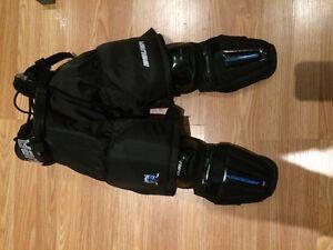 Hockey pants and shin pads