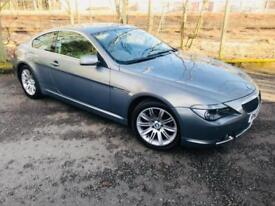 2005 BMW 6 Series 3.0 630Ci Coupe 2dr Petrol Sequential (216 g/km, 258 bhp)