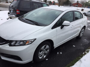 2013 Honda Civic Sedan - LOW KM, LIKE-NEW CONDITION