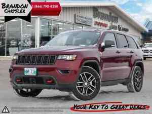 2017 Jeep Grand Cherokee Trailhawk ~ Adaptive Cruise, V6 Engine!