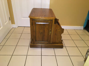 Really Nice Sturdy Cairside Table/Cabinet