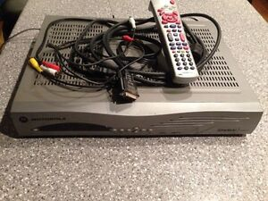 Shaw satellite receiver