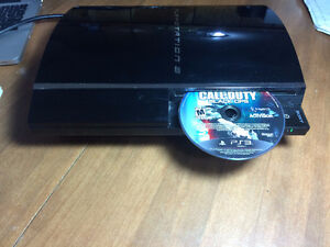 PS3 Console with power cord no HDMI