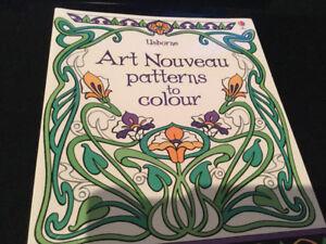 Usborne Brand New Adult Colouring Books