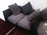 Grey corner sofa for £200 with cushions all present