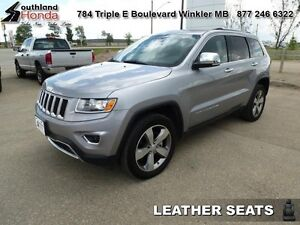 2016 Jeep Grand Cherokee Limited  - Leather Seats -  Bluetooth -