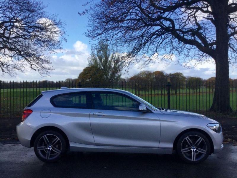 2013 63 BMW 1 SERIES 1.6 116I SPORT 3D AUTO 135 BHP