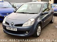 2008 RENAULT CLIO 1.2 TCE Dynamique recent cambelt high spec