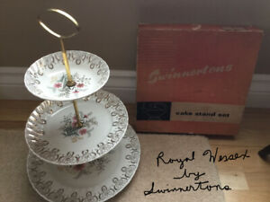 Royal Wessex 3 tier serving tray