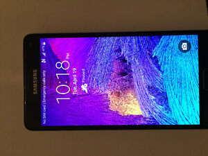 SAMSUNG NOTE 4 FOR SALE. Like new!! BELL provider