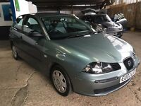 SEAT IBIZA 1.2 3DR 2003 * IDEAL FIRST CAR * CHEAP INSURANCE * HPI CLEAR