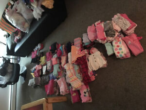 HUGE CLOTHING LOT FOR BABY GIRL