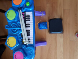 kids piano and drums