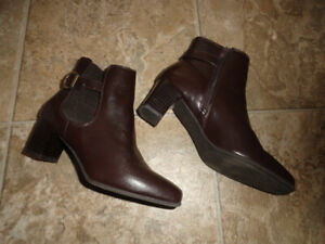 Women's Leather Ankle or High Boots - Size 7 & 7.5