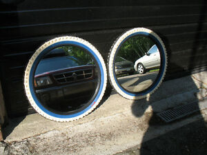 HTF Hard to find , Ikea Volda, BMX tire mirror old school hutch
