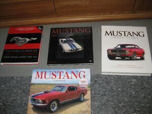 Vintage Mustang and Old Car Collector Books 'Out of Print'