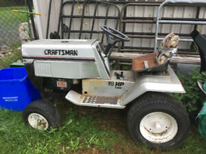 Craftsman tractor fore sale