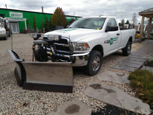 Make Money This Winter! Dodge Ram 2500 with Plow