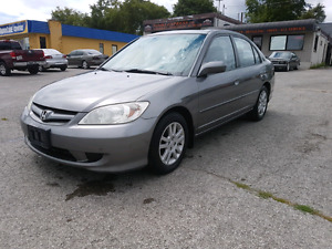 2005 Honda Civic LX -G Safety and E-Tested