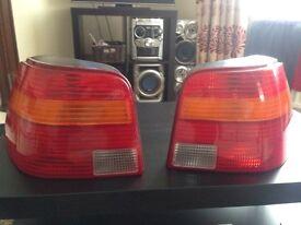 Mk4 golf rear lights **reduced**