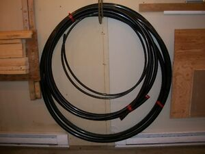BLACK POLY PIPE  FOR WELL