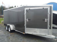 Drive in/out Snowmobile Trailers at Great Prices!