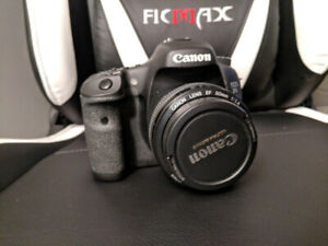 Canon 7D Body + 50mm 1.4 plus accesories