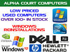 Alpha Court Computers - Used Computers & Laptops For Sale + Windows Re Installations Denton, Manchester