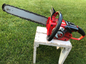 Homelite Super Mini gas powered chainsaw