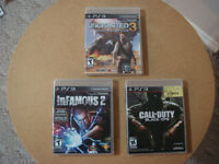 PS3 Game with Manual