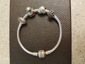 Pandora Bracelet with charms For Sale