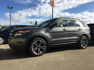 2015 FORD EXPLORER SPORT CERTIFIED, THIRD ROW SEATING! 16R16229A