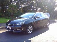 Superb 2012 Low Mileage Vauxhall Astra 1.4i VVT 16v SRi Brand New MOT Must See