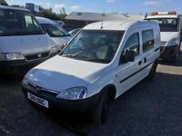 Vauxhall Combo 1.7CDTi 16v 2000 5 Seat Crew van 2011 11 90,000 mile