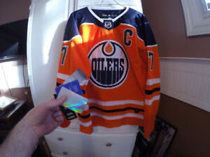 Connor McDavid Jersey, Brand New, Size Large