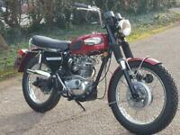 1969 TRIUMPH TROPHY 250 TR25W CLASSIC STREET SCRAMBLER.***RESERVED***
